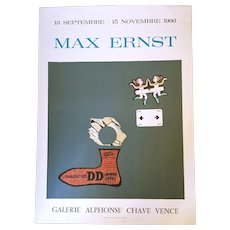 Max Ernst Lithographic Poster