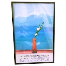 Vintage David Hockney 1988 Exhibition Poster