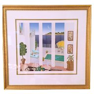 Thomas McKnight Signed and Numbered Framed Silkscreen