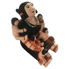 Native American Story Teller Doll