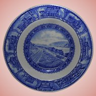 Lamberton Baltimore & Ohio Railroad Cereal/Soup Bowl