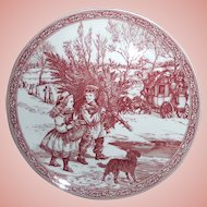Christmas Plate by Spode of England