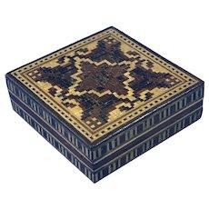 Victorian  Tunbridge Ware Puzzle Box dating back to c.1860.