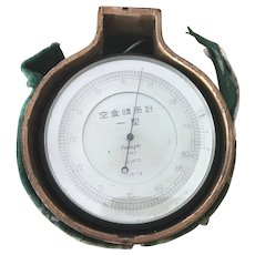 19th Century Japanese Barometer.
