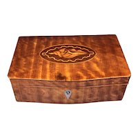 19th Century French satinwood Box.