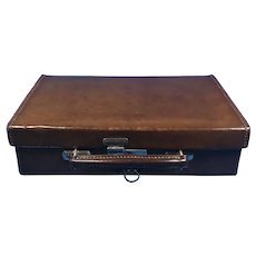 Edwardian Hide Attaché Case.