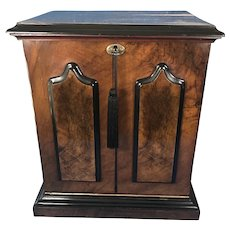 Victorian Walnut Stationery cabinet.