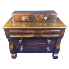 Victorian Miniature Mahogany Scotch Chest of  Drawers.