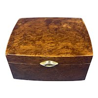 1920s Burr Cedar Box.