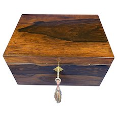 William IV Brazilian Rosewood Box.