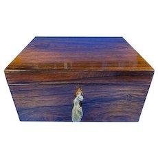 Regency Rosewood Box.
