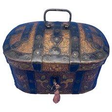 19th century Arts And Crafts Scandinavian Birch Box.