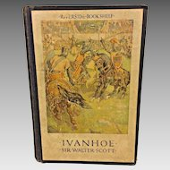Ivanhoe A Romance by Sir Walter Scott 1923 Color Illustrations Published by Houghton Mifflin