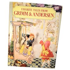 Favorite Tales from Grimm & Anderson Book, 1983, Exeter Books