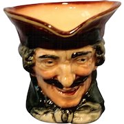 Royal Doulton - Dick Turbin Toby Mug, Designed by Charles Noke and Harry Fenton