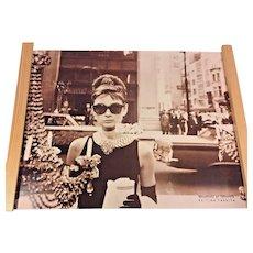 Vtg Audrey Hepburn Poster Breakfast at Tiffany's Poster Tushita Edition
