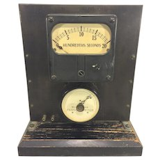 Vintage Passionometer by Jaeger Watch Co 2 Meters Not Working Traffic Generator