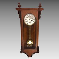 Antique Vienna Regulator Clock Not Running Maker? Bim Bam Strike Project Clock