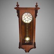 Antique Vienna Regulator Clock Not Running Maker? Bim Bam Strike Project Clock