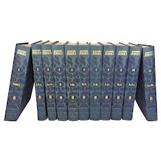 Encylopedia Judaica 11 of 22 Volumes 3rd Printing 1974 Keter Publ House Jerusalem, Israel