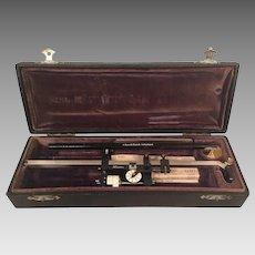 Antique Swiss Made Polar Planimeter in Case G Coradi Zurich Switzerland 1910