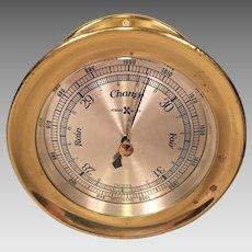 Vintage Howard Miller Porthole Style Barometer Working?