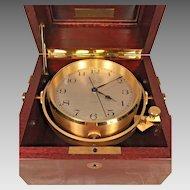 Vtg Hamilton Mariner Q Quartz Chronometer Runs!  Commemorative Piece to Old Model No 21