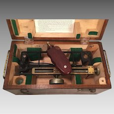 Vintage US Maritime Commission Stadimeter  in Wood Case  Made by Schick Incorporated of Stamford CT   (#2 of 2)