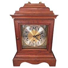 Vintage Mason & Sullivan Bracket Clock 1978   Westminster Chimes Runs Strikes Chimes