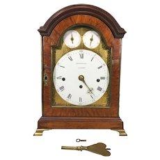 John Brockbank Triple Fusee Bracket Clock   Circa 1780s to 1790s  8 Bell Chime Nest Hour Strike on Separate Bell Runs! London England  George III Style