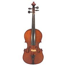 Antique Ernst Kreusler Violin w/ German Bow in Hard Case  Item Description