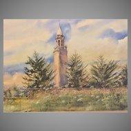 A I DuPont Nemours Carillon Print Ltd Ed by Terry J Newitt 172/750