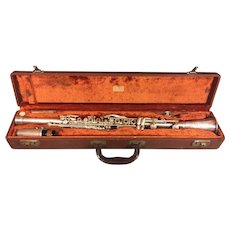 Vintage Cundy-Bettoney Clarinet Three Star Model Mouthipiece with Case
