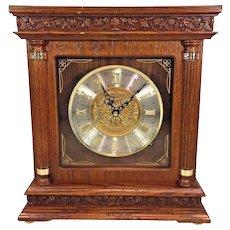 Vtg Seiko Melodies Quartz Bracket Clock Play 6 Melodies Runs and Plays! Model # MS XW217-1