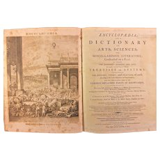 """Dobson's Encyclopaedia, or """"A Dictionary of Arts, Sciences, and Miscellaneous Literature"""". Thomas Dobson, Philadelphia, 1798. Includes 18 volumes, with 3 Supplement vols. Dobson's """"Encyclopaedia"""" was the first encyclopedia printed &published in USA"""