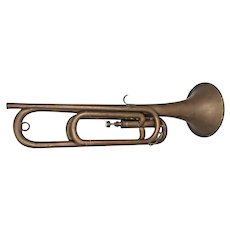 Antique York 1 Valve Trumpet Grand Rapids MI No Case or Mouthpiece