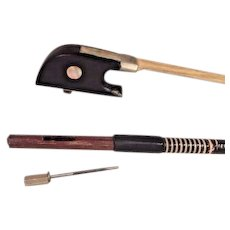 Vintage  Artist, Ahtis Ariis or Ahtis Violin Bow 8 Sided Shaft Germany