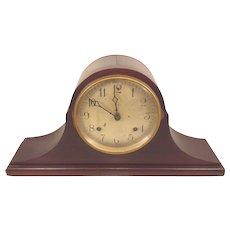 Antique Ansonia Tambour Mantel Clock Not Running Bim Bam Strike