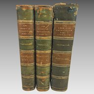 The American Revolution 3 Vol Set 1903 Sir George Otto Trevelyan Longmans Green & Co