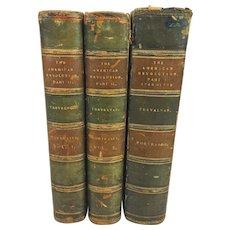 The American Revolution 3 Vol Set 1903 Sir George Otto Trevelyan Longmans Green & Co