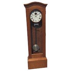 Antique Standard Electric Time Company Grandfather Master Clock Runs? Circa 1905-1910 Regulator Model 12?
