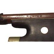 Antique Josef Richter Violin Bow Germany