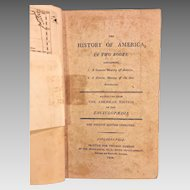 The History of America in Two Books 1808 4th Edition Jedidiah Morse & Publisher Thomas Dobson Philadelphia  Maps of North and South America are Intact