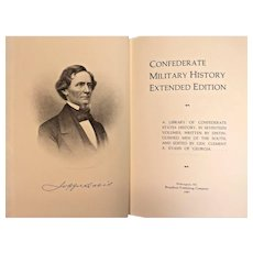 Confederate Military History Extended Edition 1987 Broadfoot Publishing Company   19 Volumes Inclusive of the 2 Volume Index