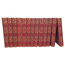 The Writings of Oliver Wendell Holmes 13 Volumes Leather & Cloth Hardcover Bound 1894   Houghton Mifflin