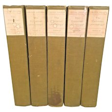 The Universal Anthology Mouseion Edition by Richard Garnett 5 of 33 Volumes 1899 Limited Edition #256 of 1,000