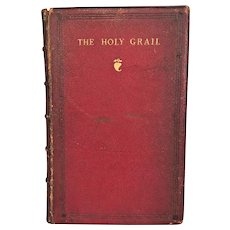 The Holy Grail and Other Poems by Alfred Tennyson 1870 Strahan & Co London Leather Bound  1st Edition