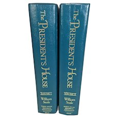 The President's House A History 2 Volumes by William Seale 1986 1st Edition & Printing Easton Press 22k Gold Gilt Pages
