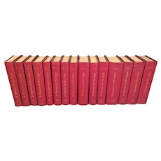 A Thousand and One Nights 15 of 16 Volumes   Limited Edition of 400 Khayats Beirut Lebanon 1964 by John Payne Leather Bound