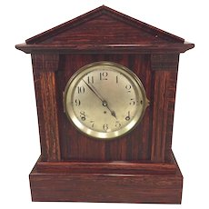 Vintage Seth Thomas Sonora 4 Bell Chime Clock Adamantine Case Runs Chime Clock #5